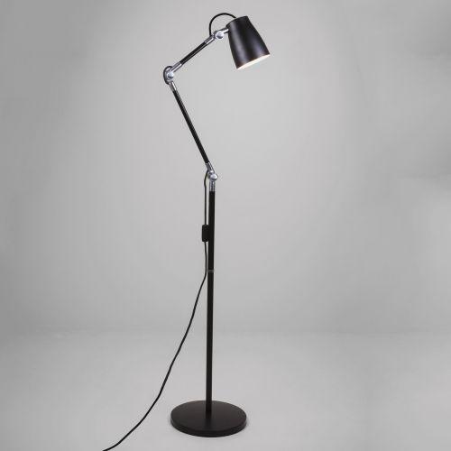 Astro Atelier Floor Base Indoor Floor Lamp in Matt Black 1224009
