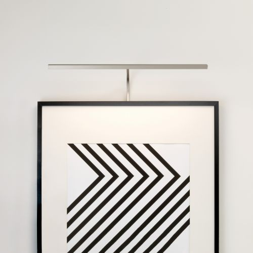 Astro Mondrian 600 Frame Mounted LED Indoor Picture Light in Matt Nickel 1374006