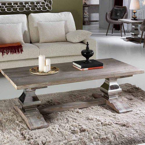 Amari Coffee Table Antique Solid Ash Wood REG/190952