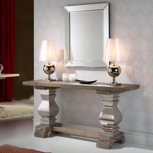 Amari Console Table Antique Solid Ash Wood REG/190947