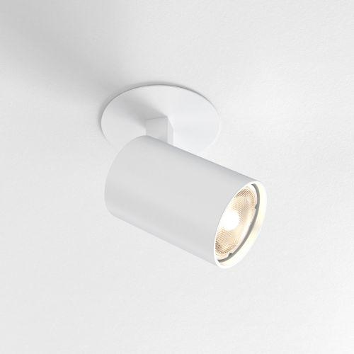 Astro Ascoli Recessed Indoor Spotlight in Textured White 1286021