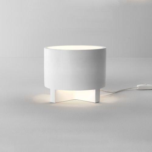 Astro Martello 240 Indoor Table Lamp in Plaster 1395002