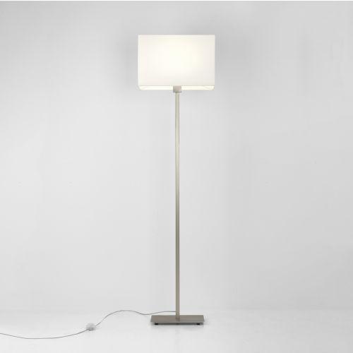 Astro Park Lane Floor Indoor Floor Lamp in Matt Nickel 1080017