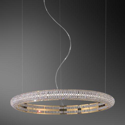 Kolarz Nobile 1 Light Ceiling Pendant 24 Carat Gold 6004.30230.530