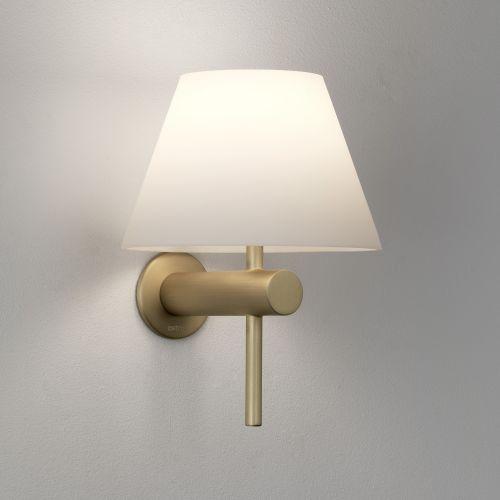 Astro Roma Bathroom Wall Light in Matt Gold 1050009