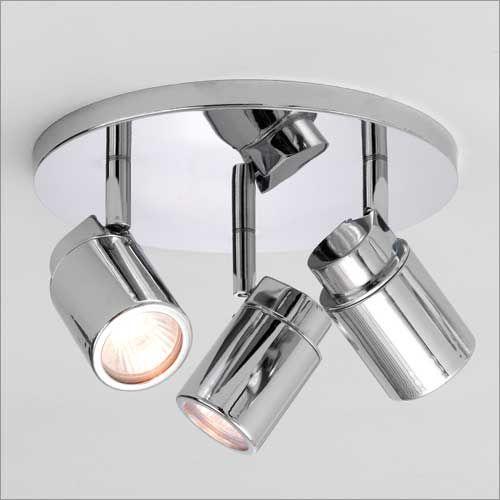 Astro Como Triple Round Bathroom Spotlight in Polished Chrome 1282002