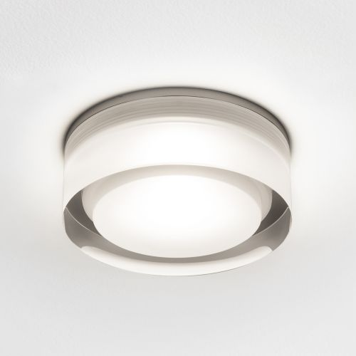 Astro Vancouver Round 90 LED Bathroom Downlight in Clear Acrylic 1229012