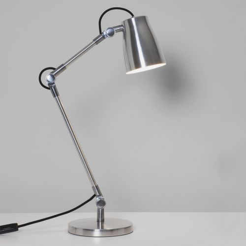 Astro Atelier Desk BASE Indoor Table Lamp in Polished Aluminium BASE ONLY 1224004