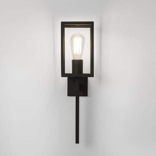 Astro Coach 130 Outdoor Wall Light in Textured Black 1369001