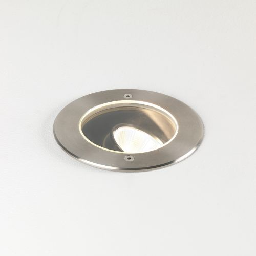 Astro Cromarty 120 LED Outdoor Ground Light in Brushed Stainless Steel 1378003