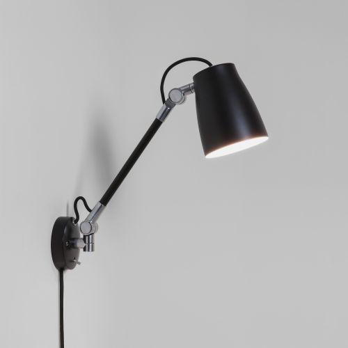 Astro Atelier Grande Indoor Wall Light in Matt Black 1224016