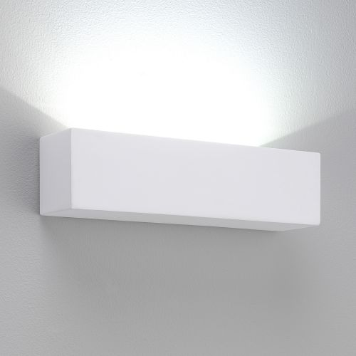 Astro Parma 250 LED 3000K Indoor Wall Light in Plaster 1187002