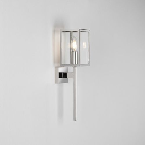 Astro Coach 100 Outdoor Wall Light in Polished Nickel 1369004