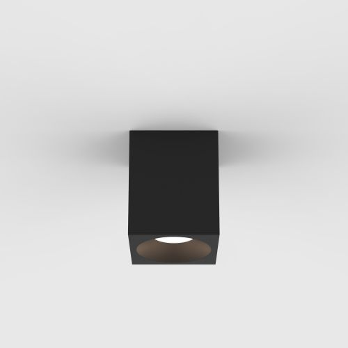 Astro Kos Square 100 LED Outdoor Downlight in Textured Black 1326026