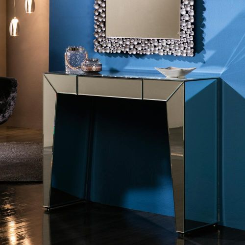 Layla Console Table Bevelled Mirror REG/190949