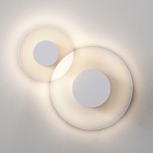 Astro Halftone 400 Indoor Wall Light in Matt White 1425001