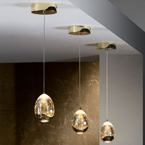 Schuller Rocio 784347 LED Ceiling Pendant 1 Light Gold