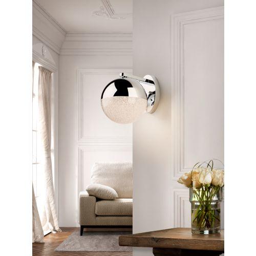 Schuller Sphere 793371 LED 1 Light Wall Light Chrome