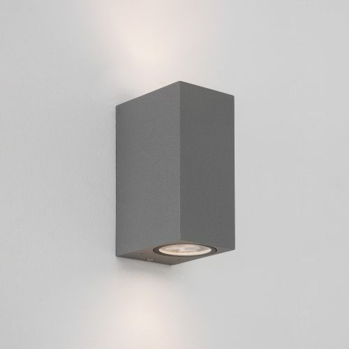 Astro Chios 150 Outdoor Wall Light in Textured Grey 1310008