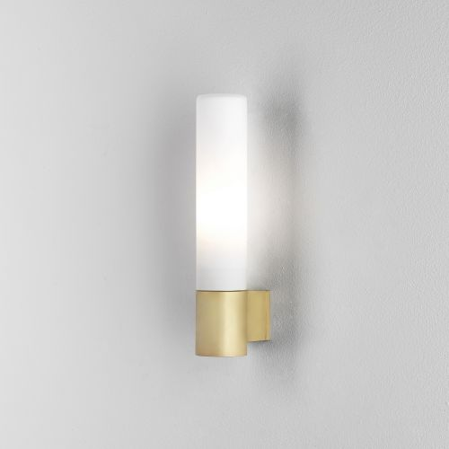 Astro Bari Bathroom Wall Light in Matt Gold 1047008