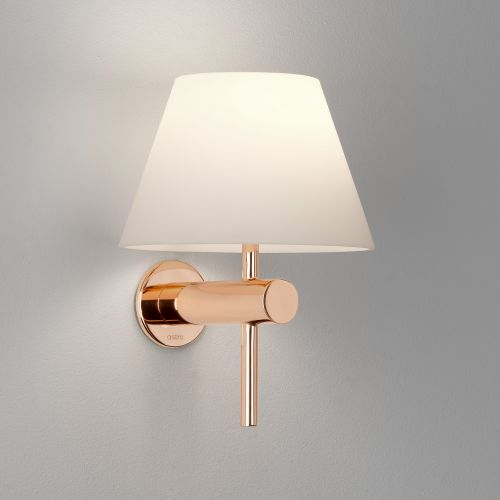 Astro Roma Bathroom Wall Light in Polished Copper 1050010