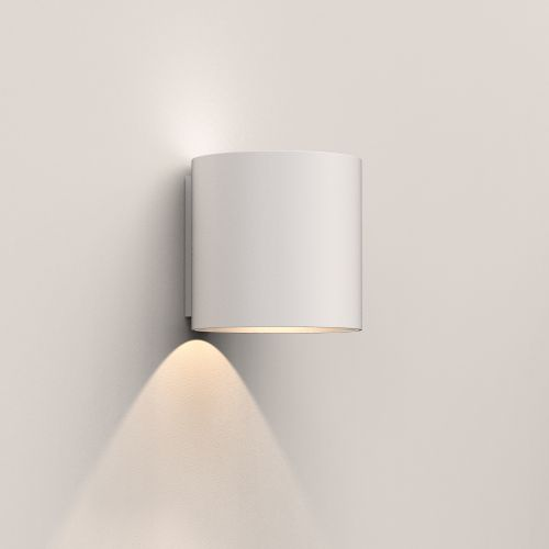 Astro Yuma 120 LED Indoor Wall Light in Textured White 1399005