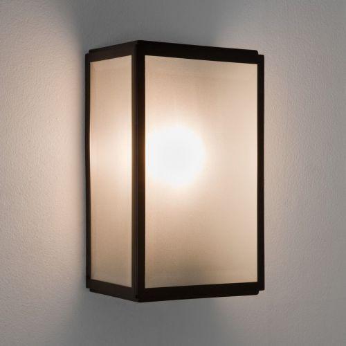 Astro Homefield Sensor Outdoor Wall Light in Matt Black 1095011