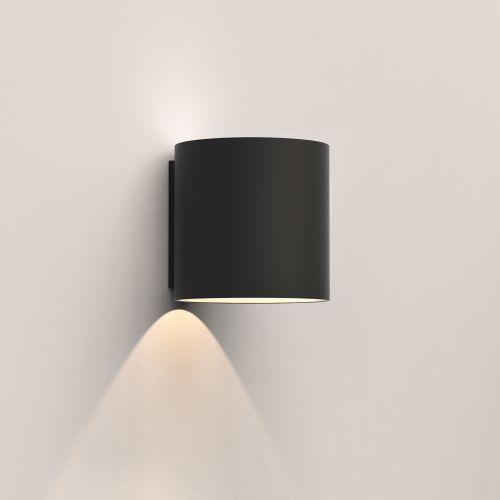 Astro Yuma 120 LED Indoor Wall Light in Textured Black 1399006