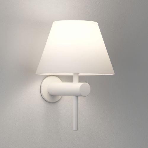 Astro Roma Bathroom Wall Light in Matt White 1050008