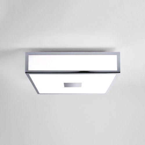 Astro Mashiko 300 Square LED II Bathroom Ceiling Light in Polished Chrome 1121040
