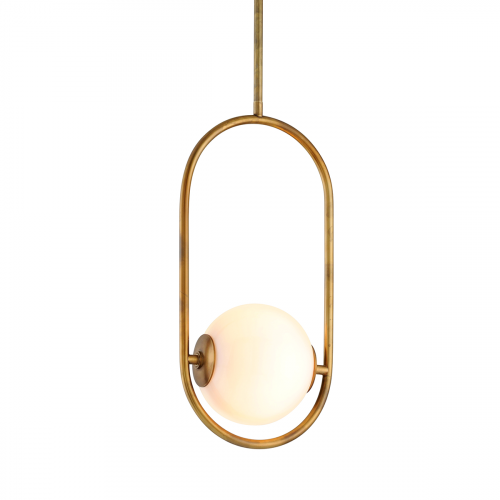 Corbett 1 Light Pendant Vintage Brass Small Everley 273-41-CE