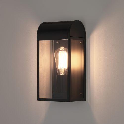 Astro Newbury Outdoor Wall Light in Matt Black 1339001