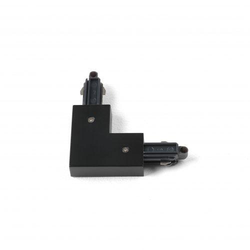 Astro 90° Corner Connector - Right Track in Matt Black 6020015