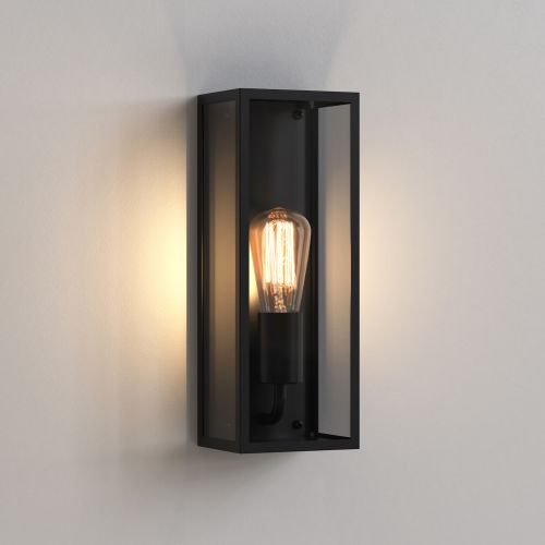 Astro Messina 130 Outdoor Wall Light in Textured Black 1183005