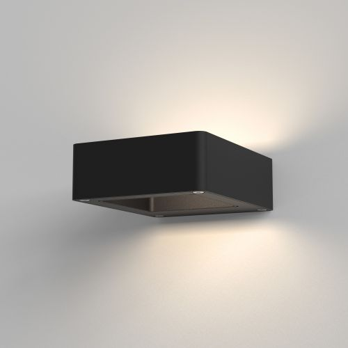 Astro Napier LED Wall Outdoor Wall Light in Textured Black 1357004