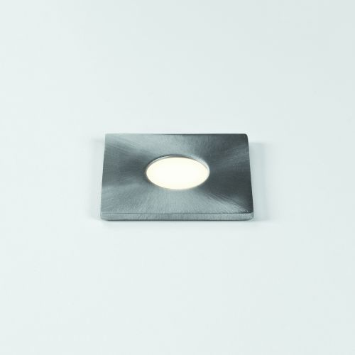 Astro Terra Square 28 LED Outdoor Ground Light in Brushed Stainless Steel 1201004