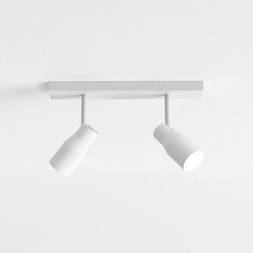 Astro Apollo Twin Indoor Spotlight in Textured White 1422004