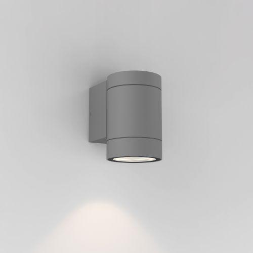 Astro Dartmouth Single GU10 Outdoor Wall Light in Textured Grey 1372010