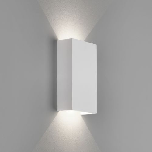 Astro Rio 125 LED Indoor Wall Light in Plaster 1325007