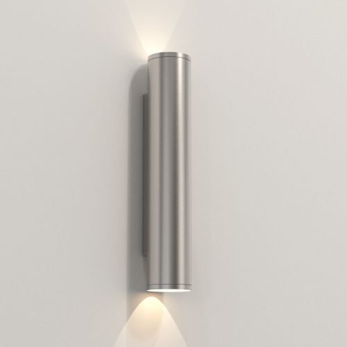 Astro Ava 400 Coastal Coastal Wall Light in Brushed Stainless Steel 1428014