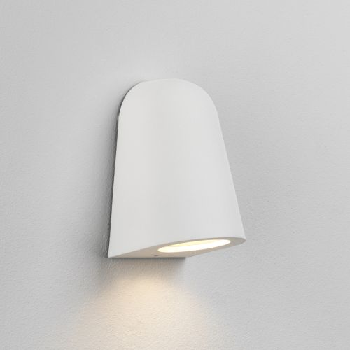 Astro Mast Light Outdoor Wall Light in Textured White 1317012