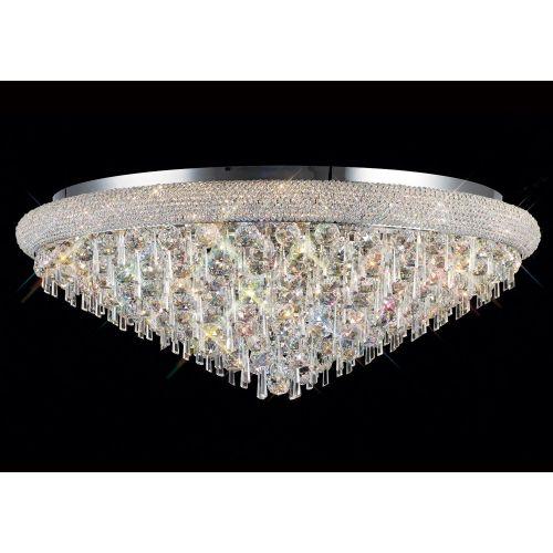 Diyas Alexandra 18 Light Ceiling Light Polished Chrome/Crystal IL31449