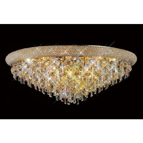 Diyas  Alexandra 16 Light Ceiling Light Gold/Crystal IL32108