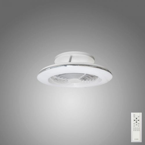 Mantra Alisio Mini White Ceiling Fan 70W LED Light Dimmable Remote Controlled M7493