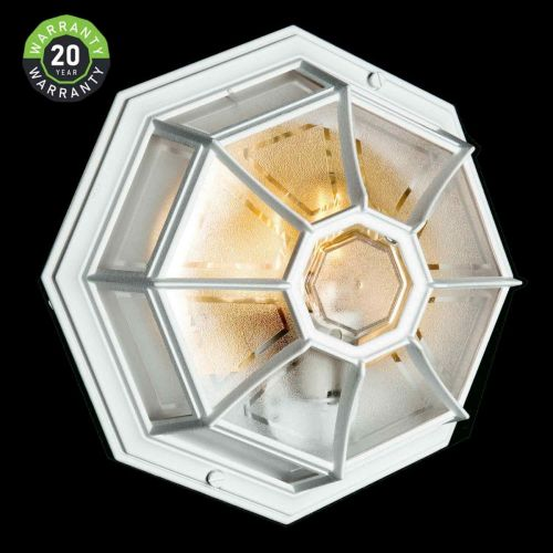 Noral Apollo Outdoor Wall Light White NOR/7903101 20 Year Warranty