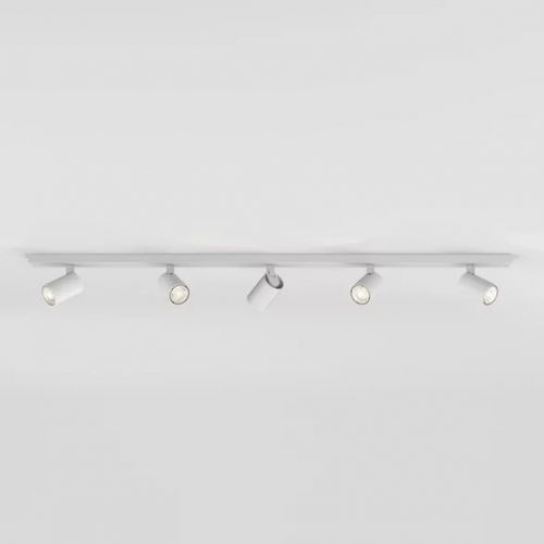 Astro Ascoli Five Bar Indoor Spotlight in Textured White 1286059