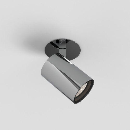 Astro Aqua Recessed Bathroom Spotlight in Polished Chrome 1393008
