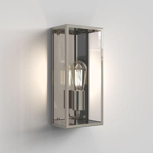 Astro Messina 160 II Outdoor Wall Light in Polished Nickel 1183022
