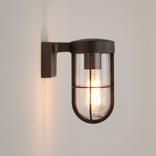 Astro Cabin Wall Outdoor Wall Light in Bronze 1368025
