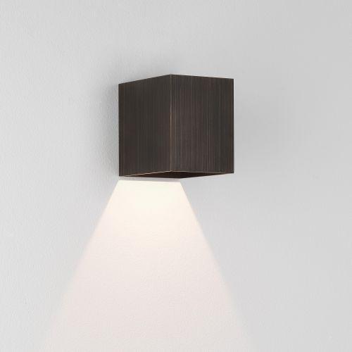Astro Kinzo 110 LED Indoor Wall Light in Bronze 1398004